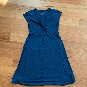 Patagonia dress, teal, size large